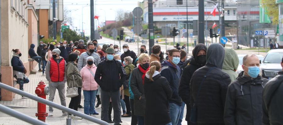 Mobilny punkt szczepień w Olsztynie