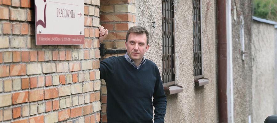 Krzysztof Dąbkowski, dyrektor Miejskiej Biblioteki Publicznej w Olsztynie