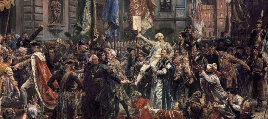 """Obraz Jana Matejki """"Konstytucja 3 maja"""", Muzeum Narodowe w Warszawie, Wikipedia"""