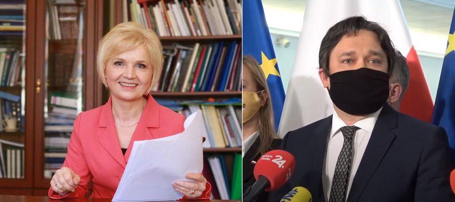 Lidia Staroń i Marcin Wiącek