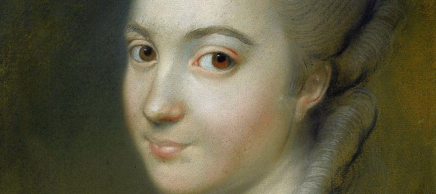 Aleksandra Pernett (później Zajączek) na obrazie Ludwika Marteau