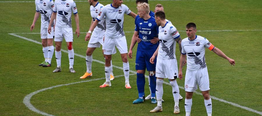 Defensywa Sokoła Ostróda w meczu z Motorem Lublin nie stanowiła monolitu