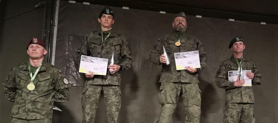 Kpr. Paweł Jastrzębski z 43 batalionu lekkiej piechoty w Braniewie zdobył tytuł Mistrza Polski