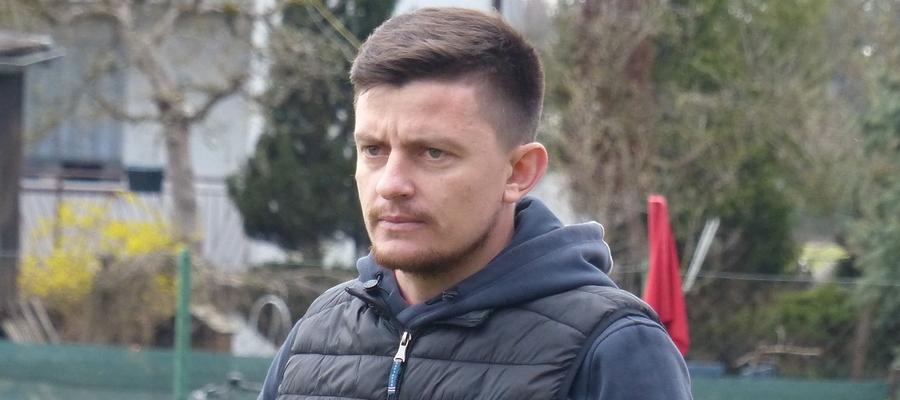 Łukasz Suchocki (GKS Wikielec) zalicza właśnie bardzo udany start trenerskiej kariery