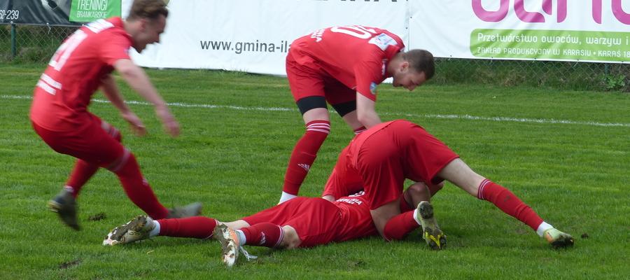 Drużyna GKS-u Wikielec w ostatnich pięciu meczach ligowych cztery razy wygrała i raz zremisowała