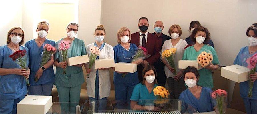 Dziękujemy za poświęcenie i pracę na rzecz chorych i cierpiących