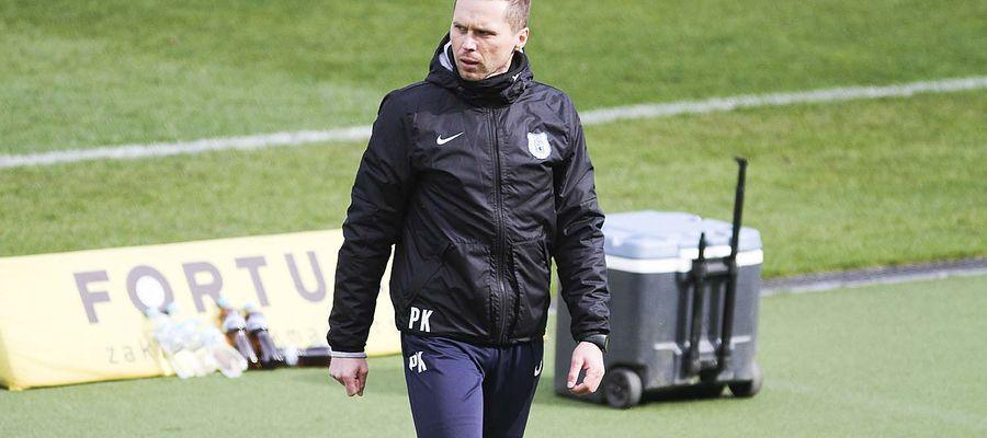 Piotr Klepczarek, trener Stomilu