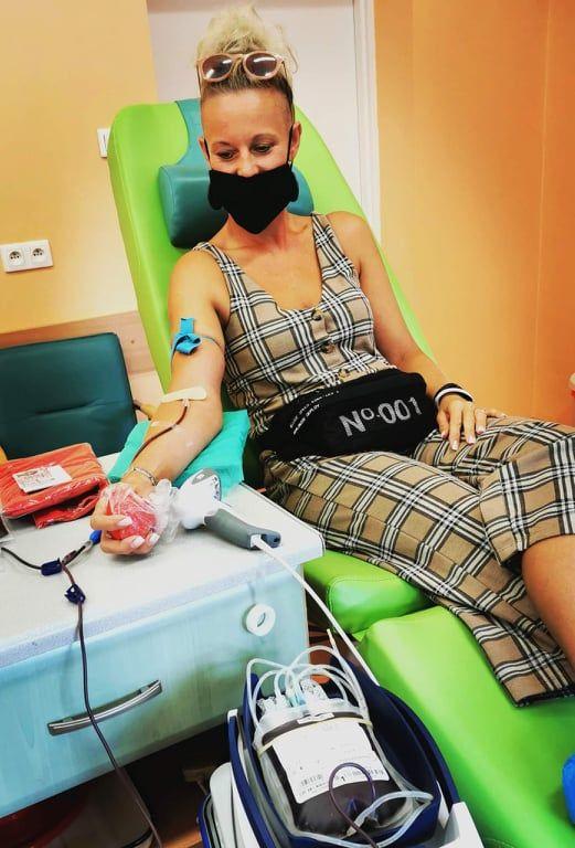 Karolina ma już na swoim koncie prawie 8 litrów oddanej krwi