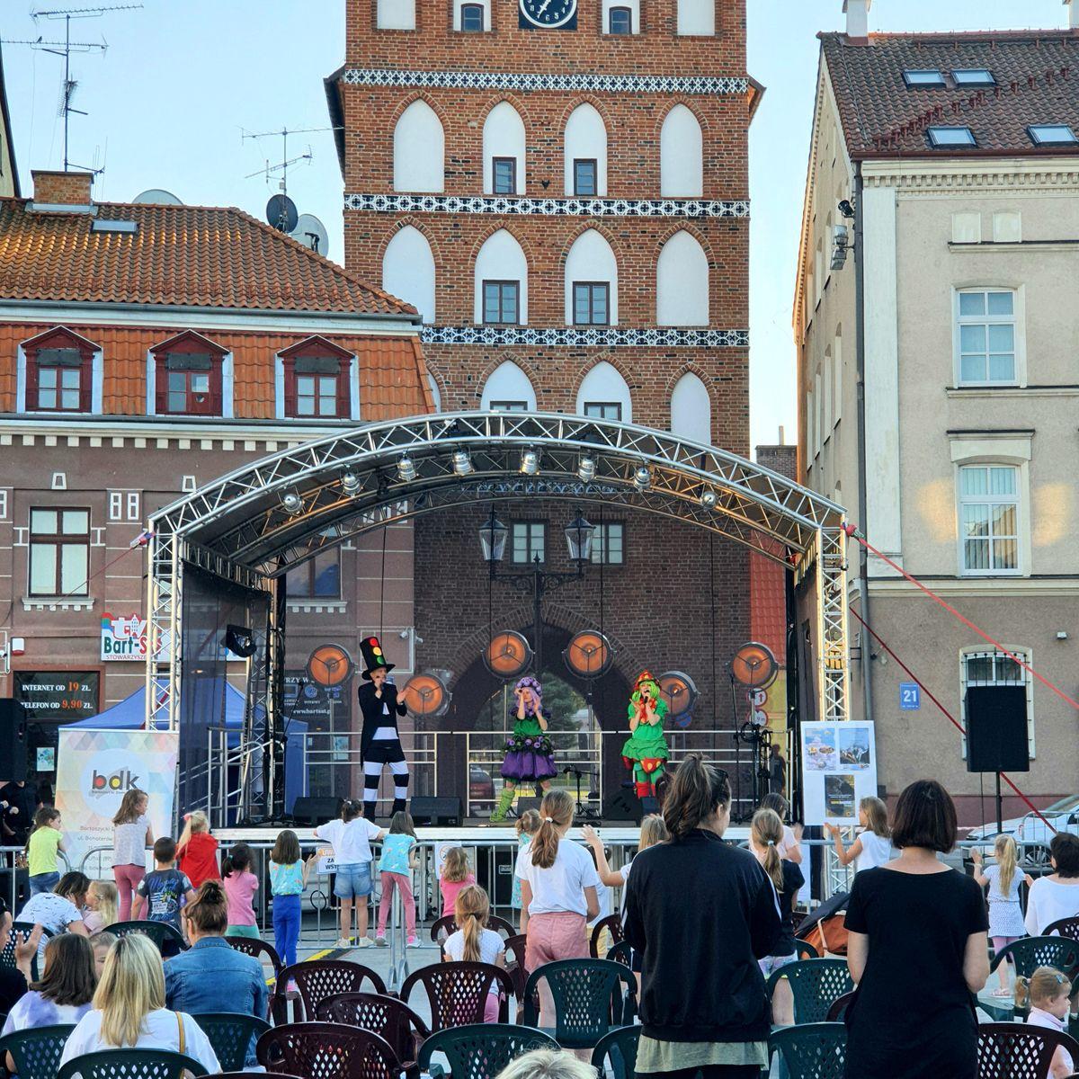 Centrum Uśmiechu dostarczyło wiele radości najmłodszej publiczności w Bartoszycach