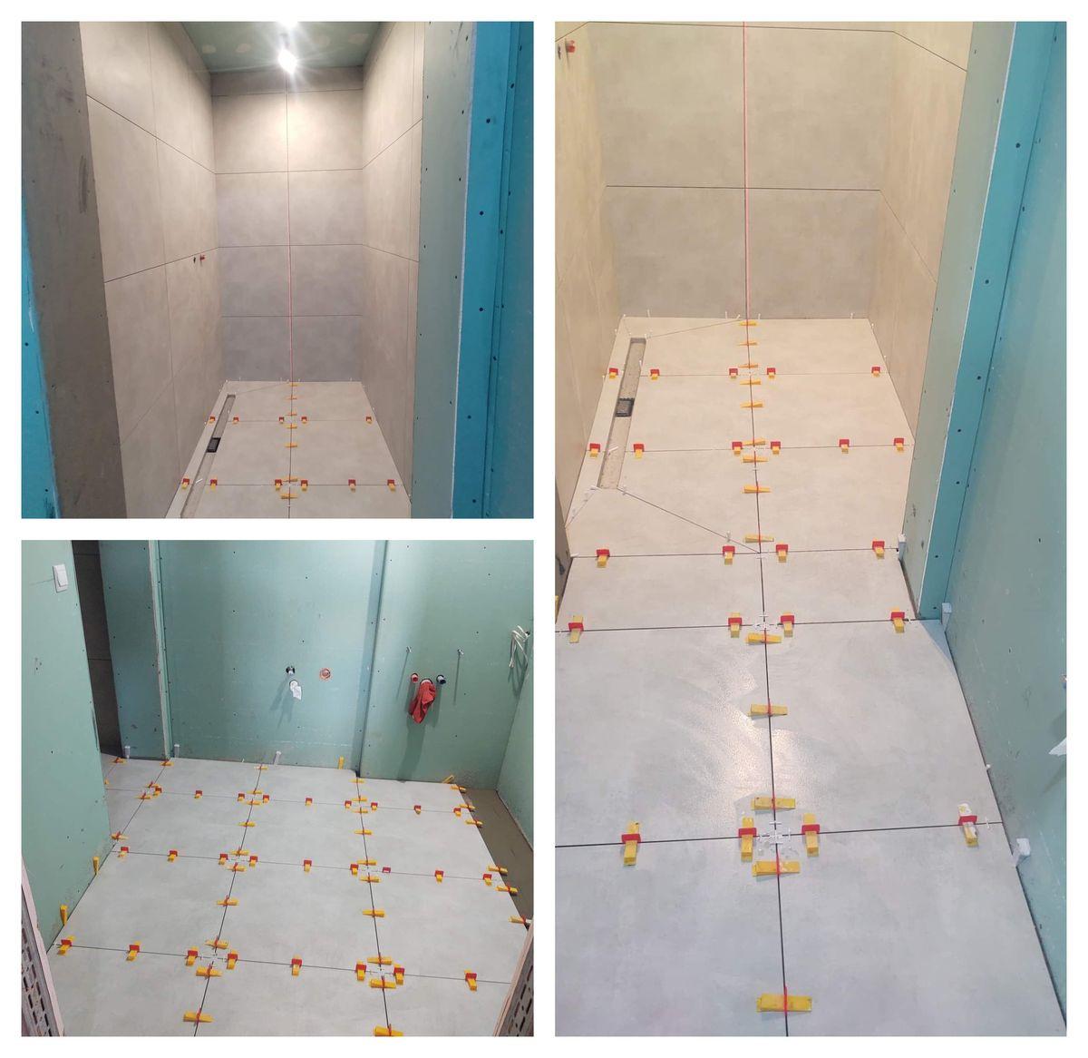 Prace nad remontem łazienki trwają, nadal jest jednak sporo do zrobienia