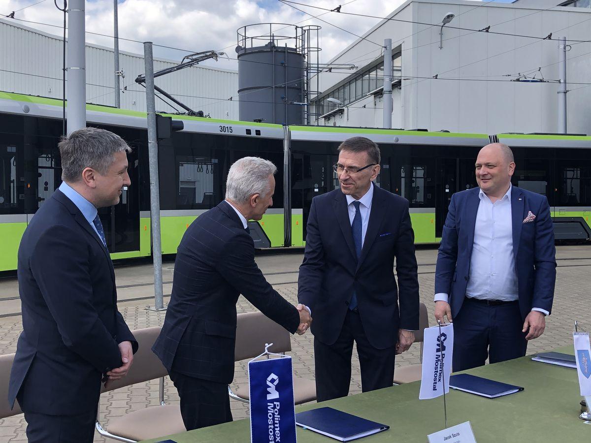 Umowa na rozbudowę linii tramwajowej podpisana
