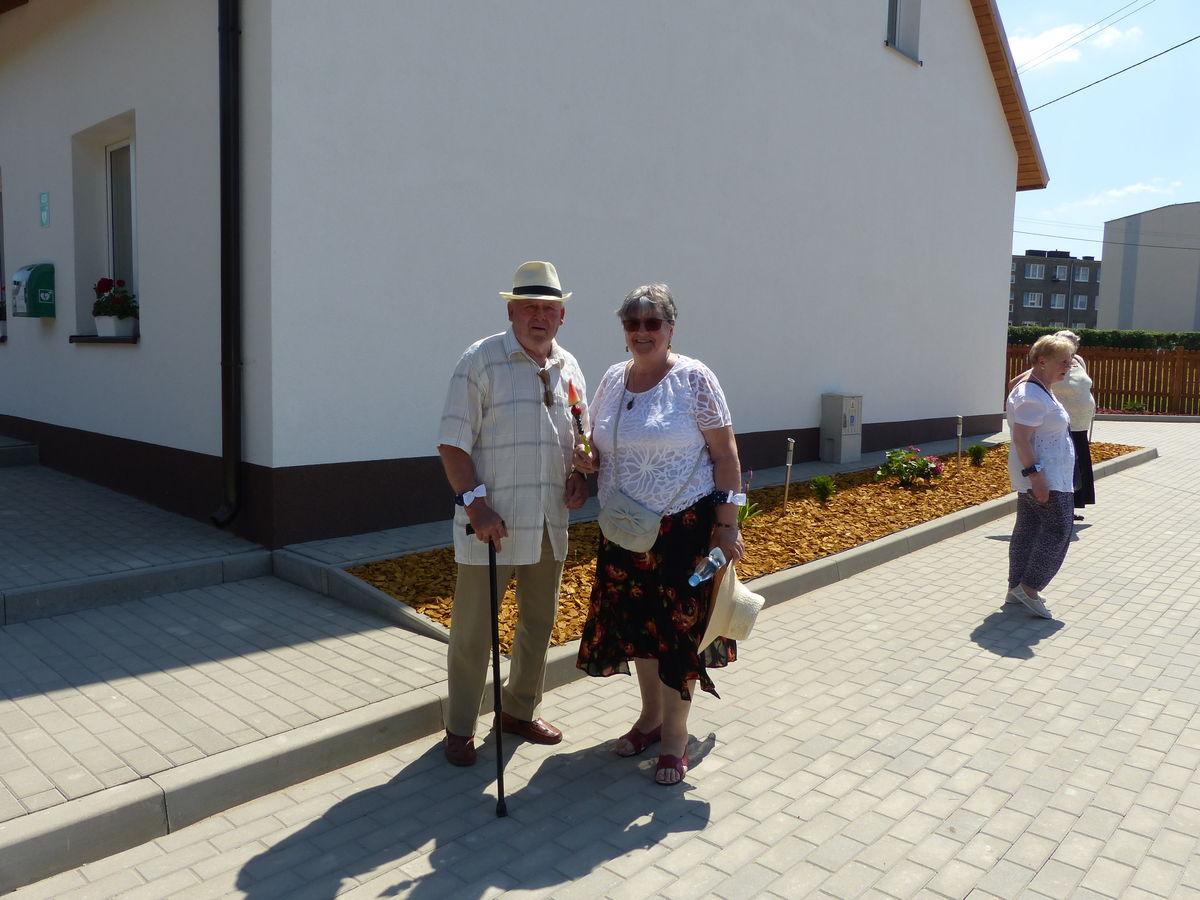 Pod nowym Domem Seniora w Łabędnikach