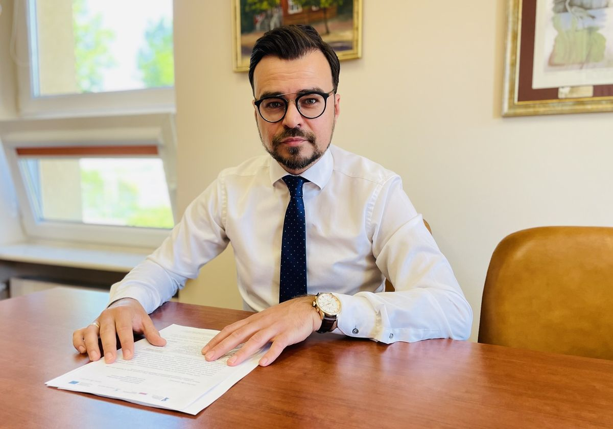 Maciej Wróbel, zastępca burmistrza Kętrzyna