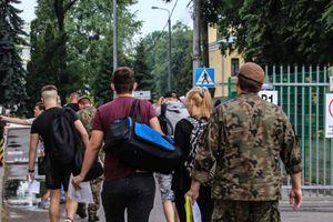 1000 ochotników wstępuje w szeregi terytorialsów