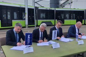 Prezydent Grzymowicz podpisał kontrakt na rozbudowę linii tramwajowej w Olsztynie