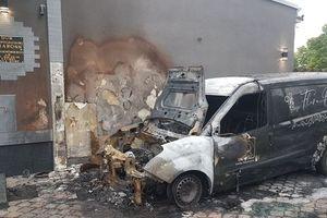 Kto podpalił samochody Domu Pogrzebowego Charonn w Ostródzie?