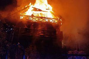 Tragiczny pożar w Pasymiu. W domku letniskowym zginęly dwie osoby