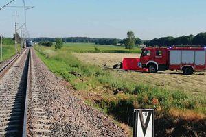 Tragedia na przejeździe kolejowym, kierowca zginął na miejscu
