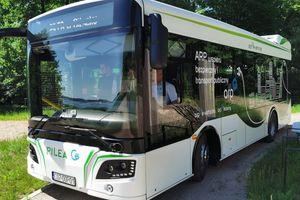 Elektrycznego busa testuje GZK Bystry