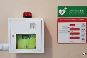 Kolejne defibrylatory są już dostępne