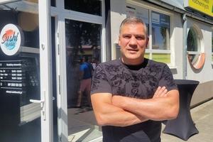 Dariusz Michalczewski przyjechał na sushi do Olsztyna