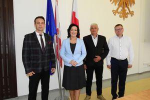 Senator Małgorzata Kopiczko z wizytą w Olecku