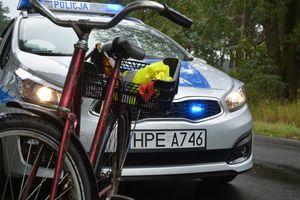 Dla tego rowerzysty to był mocno zakrapiany weekend