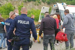 Polscy policjanci uratowali motocyklistę zaginionego w Kosowie. Wśród nich był ełczanin
