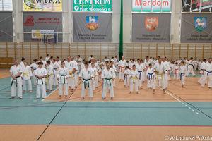Wspólny egzamin karateków z Bartoszyc, Bisztynka, Sępopola i Górowa Iławeckiego