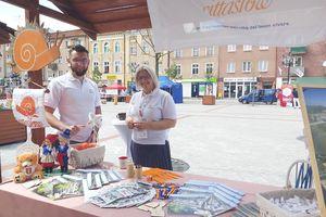Lubawa promowała się na festiwalu powolnego życia