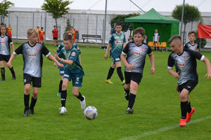 Ostródzianie dobrze zaczęli turniej 12-latków Ostróda Cup 2021