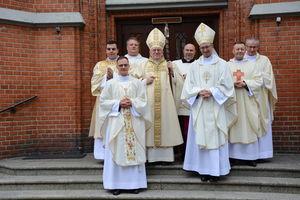 Ks. Sebastian Margiewicz to nowo wyświęcony kapłan dla diecezji ełckiej