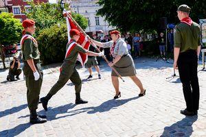 Harcerze świętowali 45-lecie na ziemi lidzbarskiej