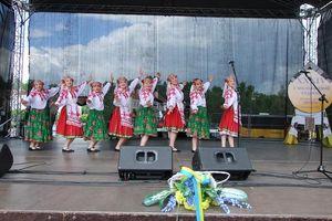 Święto ukraińskiej mniejszości. Jarmark wpisał się w wielokulturowość regionu [ZDJĘCIA]