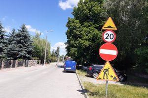 Budowalńcy bezprawnie zamknęli ulicę Gałczyńskiego