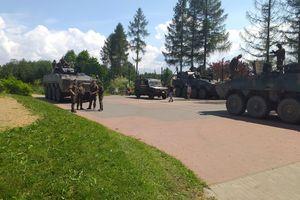 Wszędzie jeździły czołgi na kołach