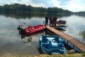 W jeziorze utonął 43-latek