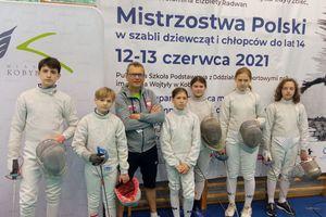 Olsztyńscy szabliści pokazali się w Kobyłce