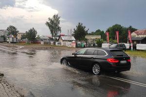 Burze w Olsztynie. Straż pożarna interweniowała 12 razy