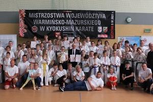 Mistrzowie karate opanowali Szczytno