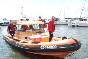 Jeden jacht zatonął, na innym wybuchł gaz