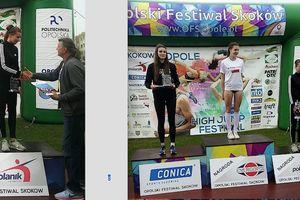 Julia Piędziak zdobyła brązowy medal na Opolskim Festiwalu Skoków