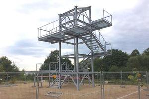 Wieża widokowa na wzgórzu do poprawki