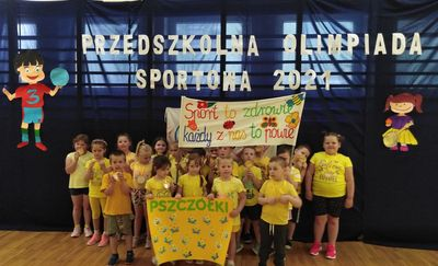 Przedszkolna Olimpiada Sportowa w MPS nr 3 w Mławie