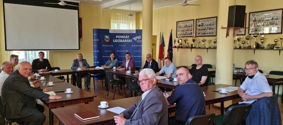 Posiedzenie zarządu OSP powiatu lidzbarksiego