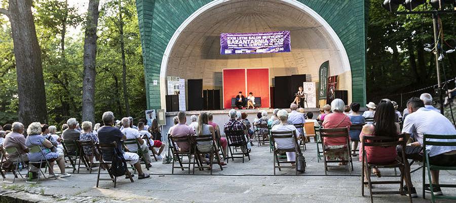 Letni Salon Muzyczny w Bażantarni od lat przyciąga do Elbląga miłośników i miłośniczki sztuki