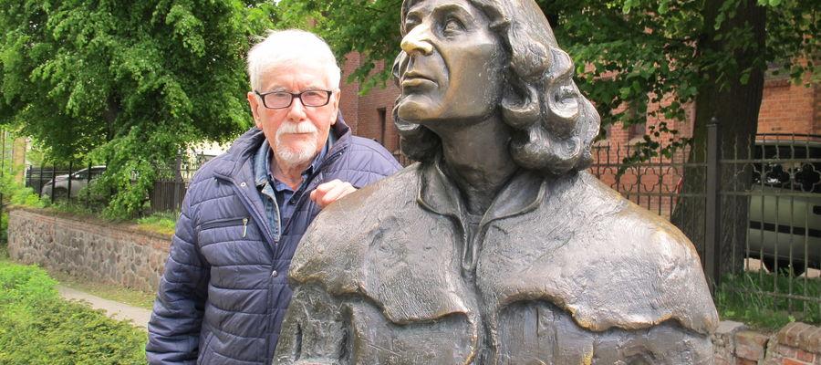 Dr Jerzy Sikorski ma na koncie kilka ważnych odkryć dotyczących Kopernika