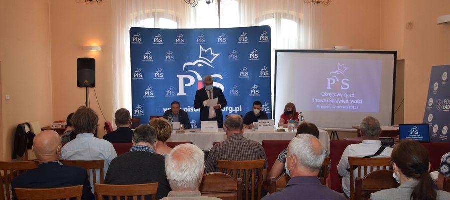 Okręg Olsztyński PiS wybrał swoich delegatów na kongres krajowy.