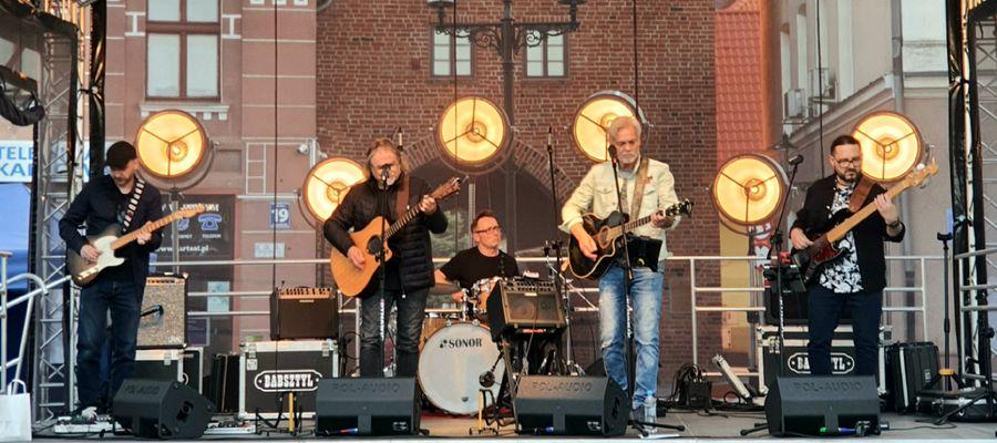 Zespół Babsztyl wystąpił na Letniej Scenie w Bartoszycach