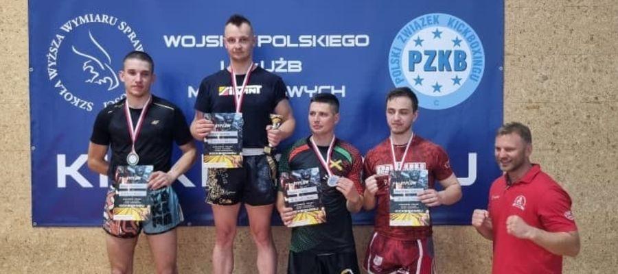 Adrian Durma z Elbląga stanął na najwyższym miejscu na podium